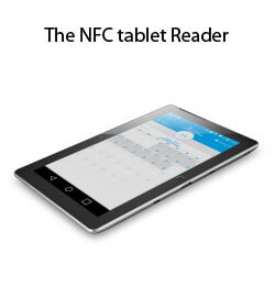 The NFC tablet Reader