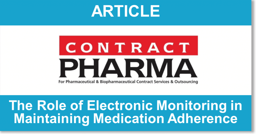article, contract pharma logo, electronic monitoring